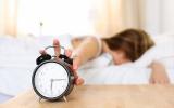 Schlafen Sie genug Machen Sie den Test